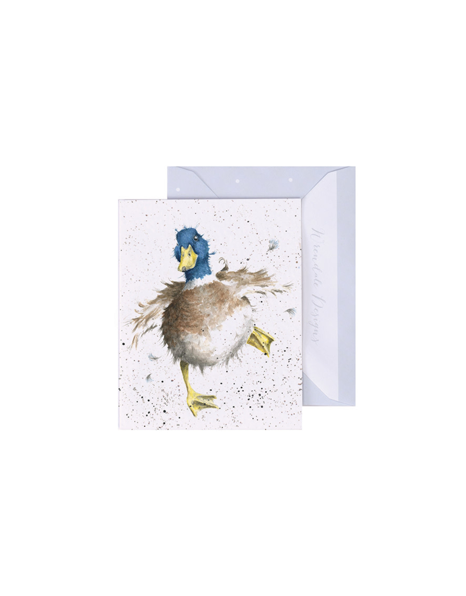 Wrendale Mini Wenskaart - A Waddle and a Quack