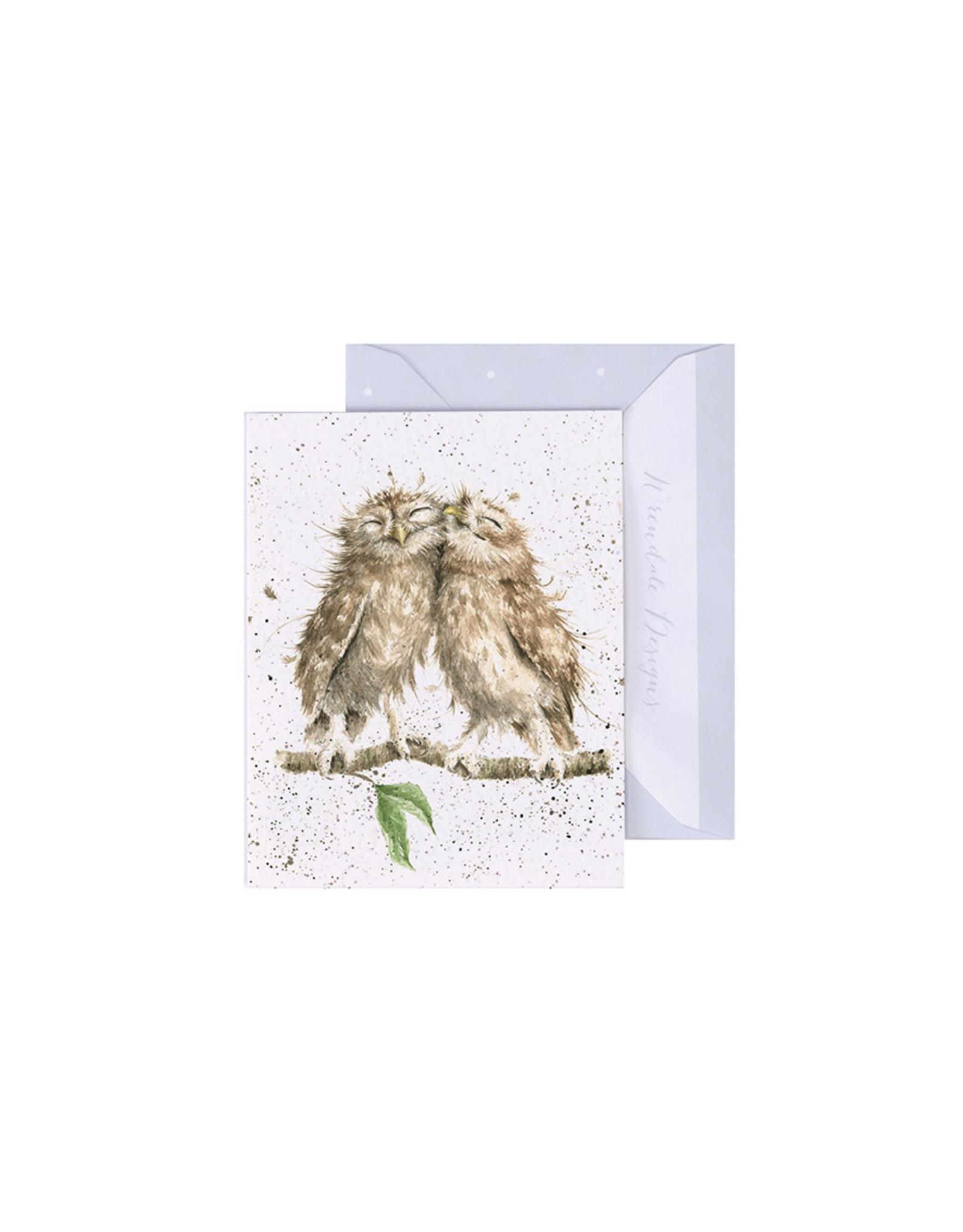 Wrendale Mini Wenskaart - Birds of a Feather