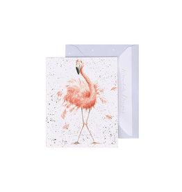 Wrendale Mini Wenskaart - Pretty in Pink