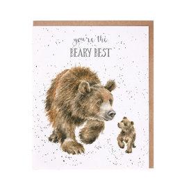 Wrendale Wenskaart - Beary Best