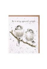 Wrendale Wenskaart - Lovebirds