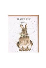 Wrendale Wenskaart - Some Bunny