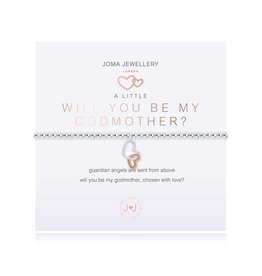 Joma Jewellery A Little - Will you be my Godmother