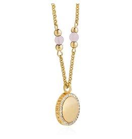 Joma Jewellery Wellness Gems - Rose Quartz - Ketting