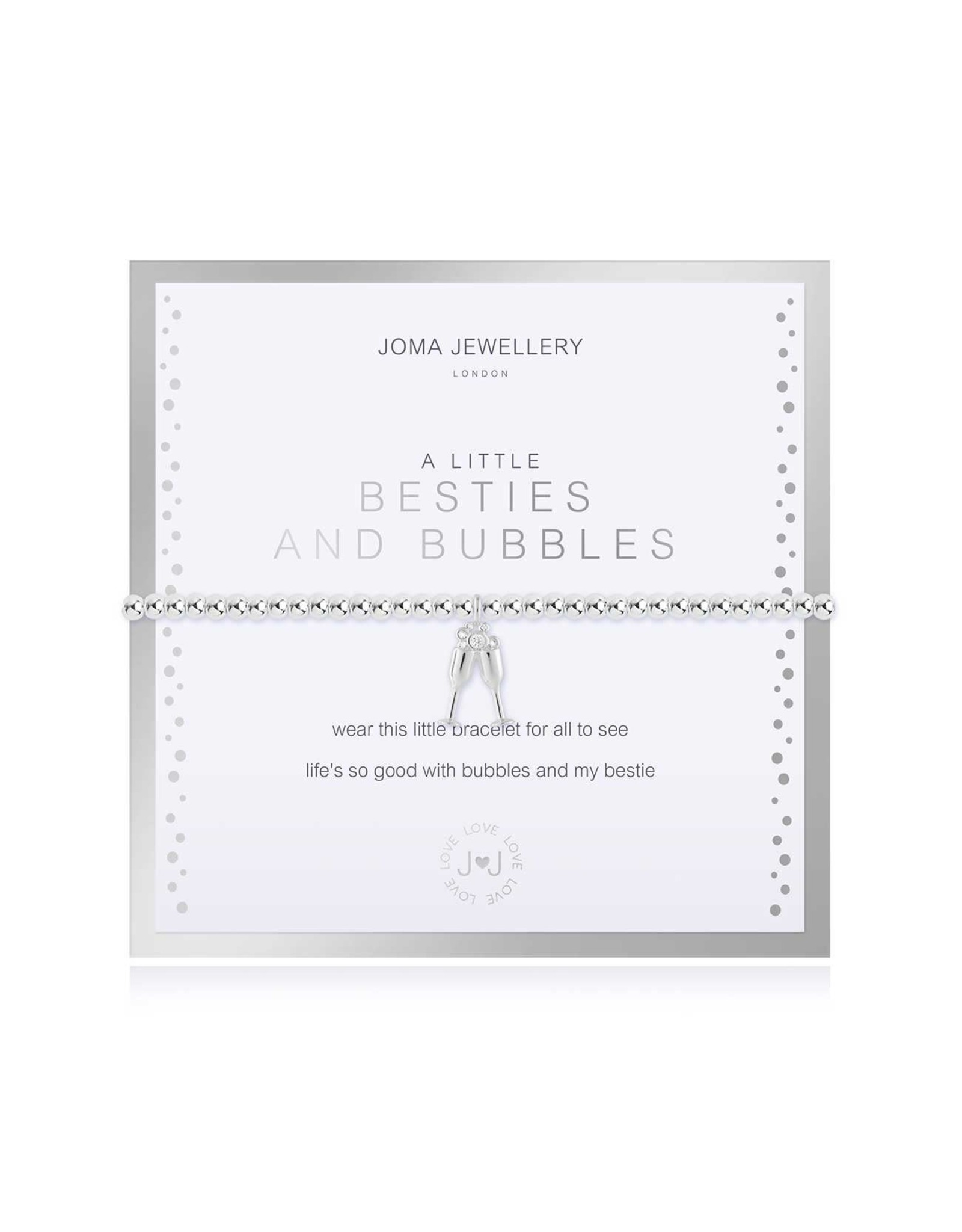 Joma Jewellery Boxed A Little - Besties and Bubbles