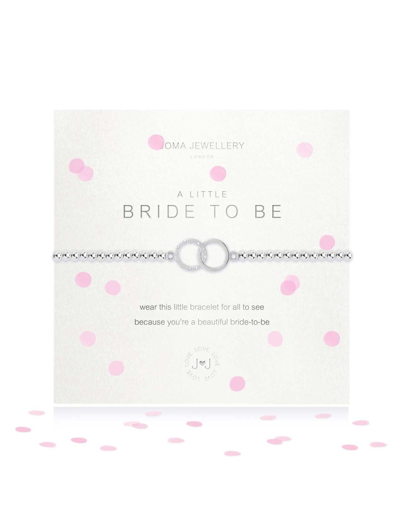 Joma Jewellery A Little - Bride to Be - Armband