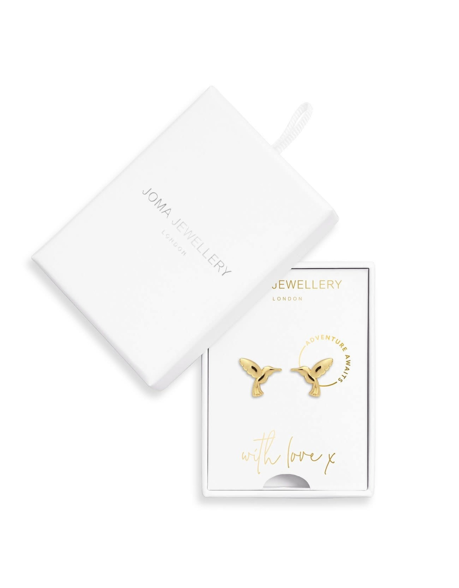 Joma Jewellery Treasure the Little Things Oorbellen - Adventure Awaits