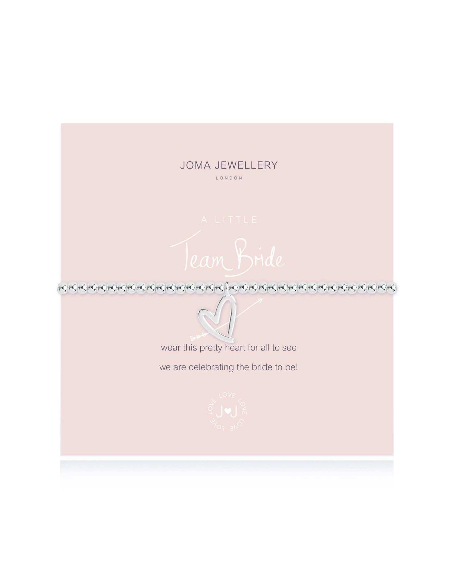 Joma Jewellery A Little - Team Bride - Armband