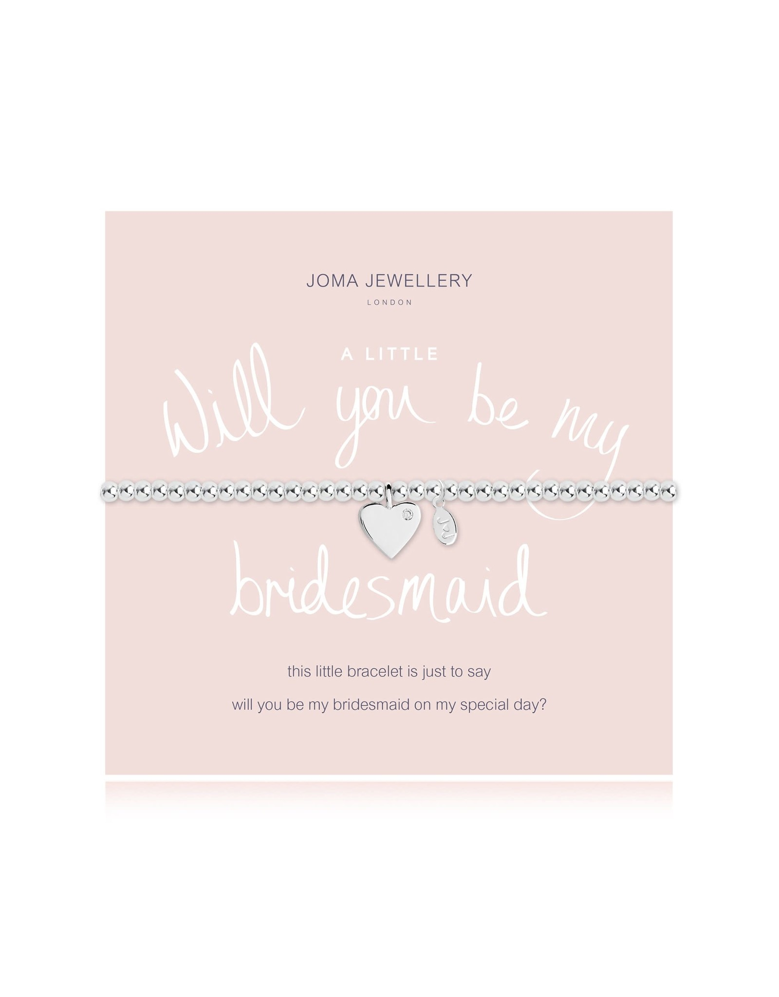 Joma Jewellery A Little - Will you be my Bridesmaid - Armband