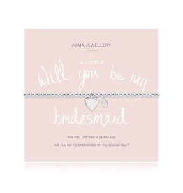 Joma Jewellery A Little - Will you be my Bridesmaid