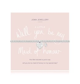 Joma Jewellery A Little - Will you be my Maid of Honour