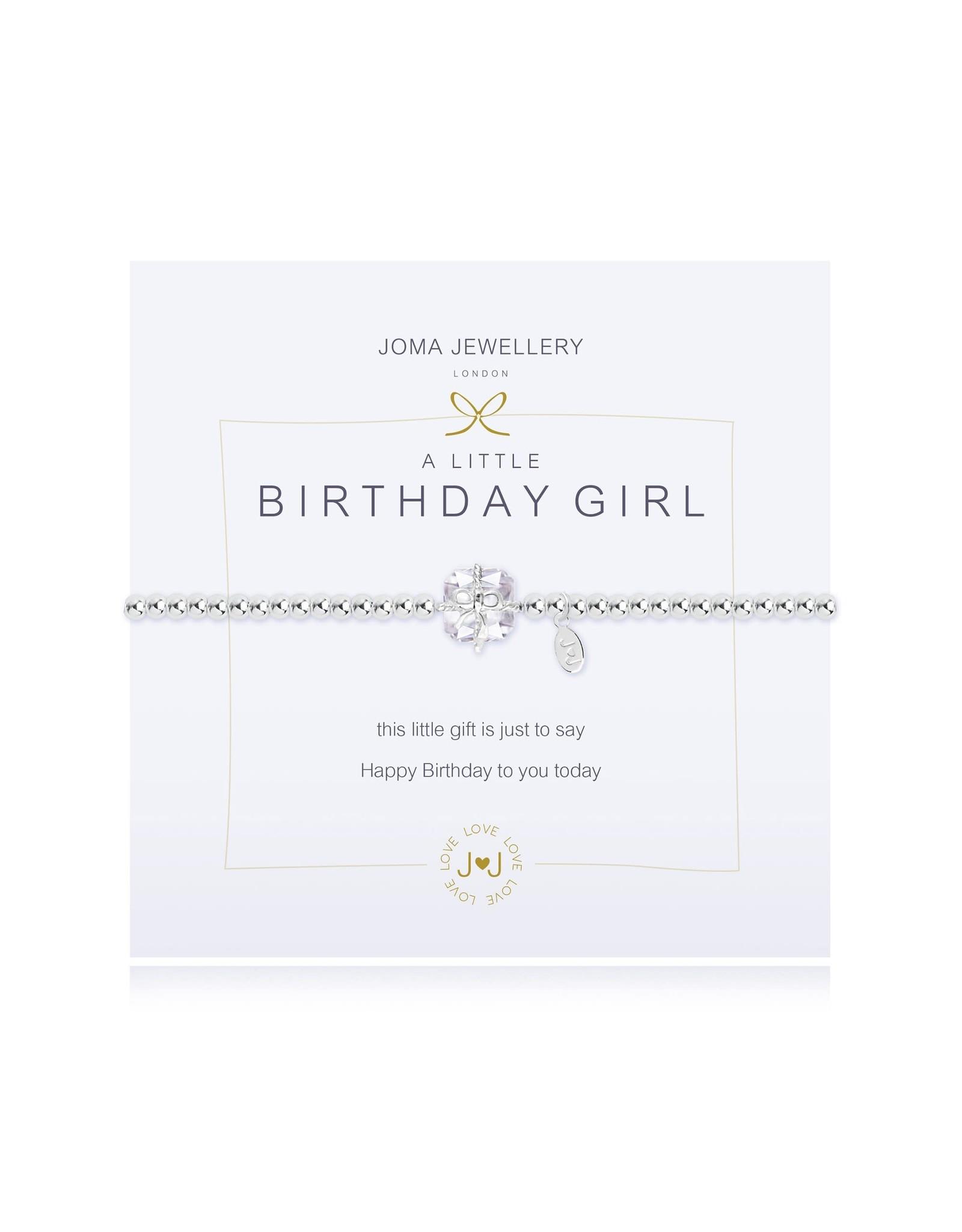 Joma Jewellery A Little - Birthday Girl