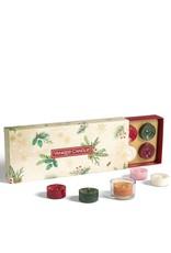 Yankee Candle Magical Christmas Morning - 10 Tea Lights & Holder