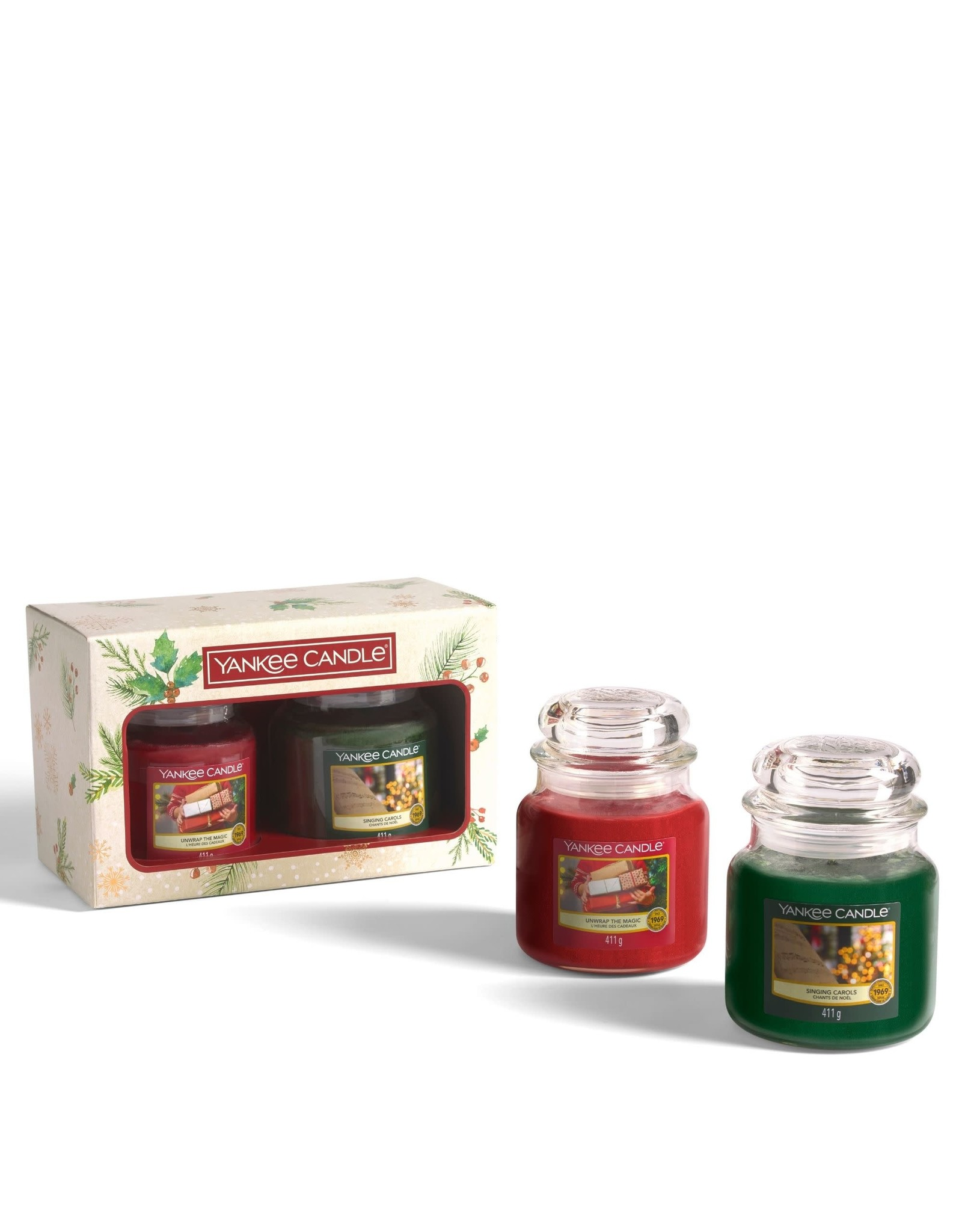 Yankee Candle Magical Christmas Morning - 2 Medium Jars Giftset