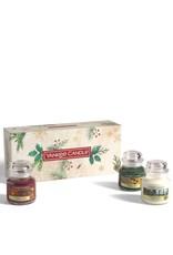 Yankee Candle Magical Christmas Morning - 3 Small Jars Giftset