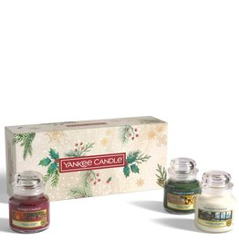 Yankee Candle Magical Christmas Morning - 3 Small Jars Giftset