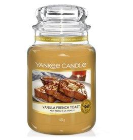 Yankee Candle Vanilla French Toast - Large Jar