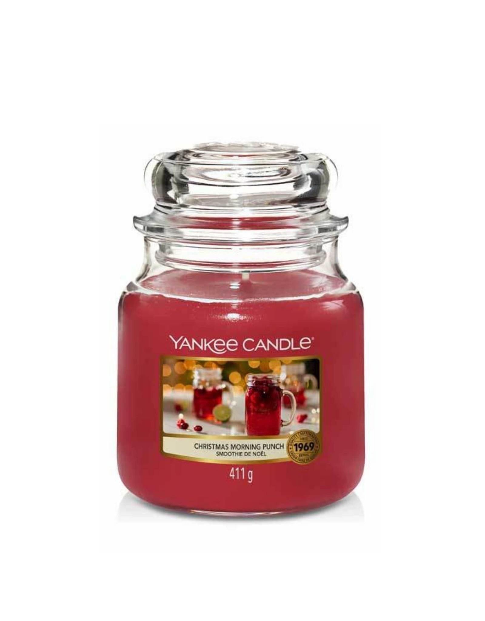 Yankee Candle Christmas Morning Punch - Medium Jar