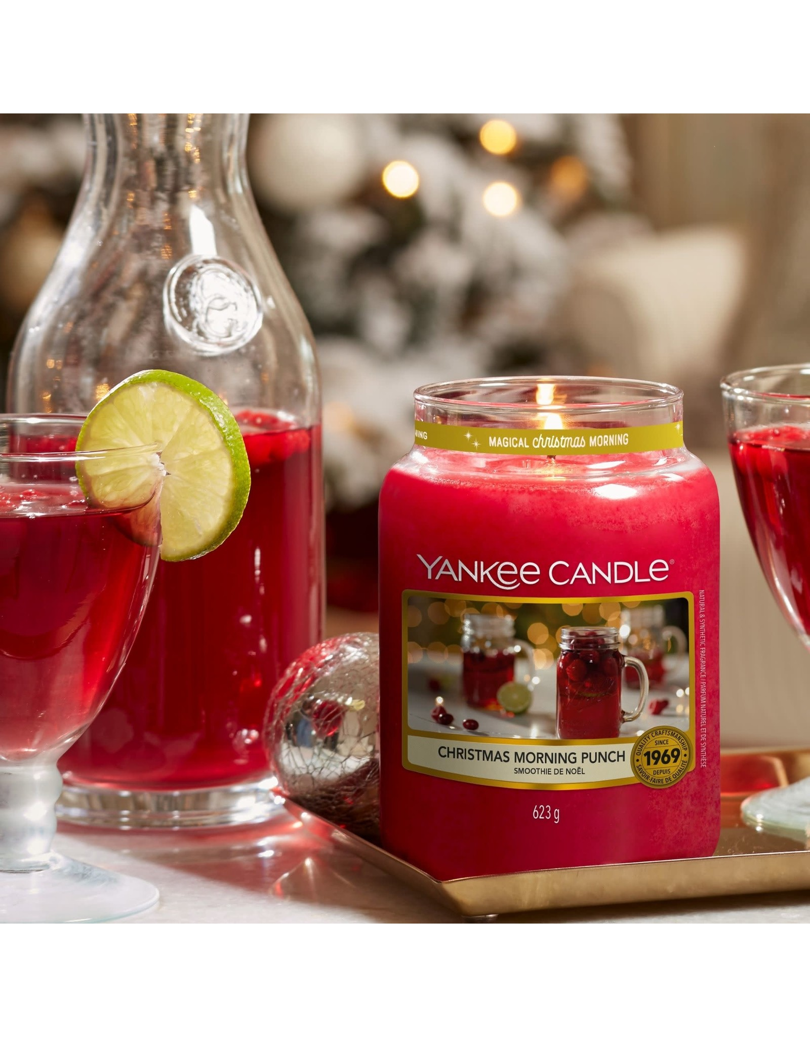 Yankee Candle Christmas Morning Punch - Large Jar