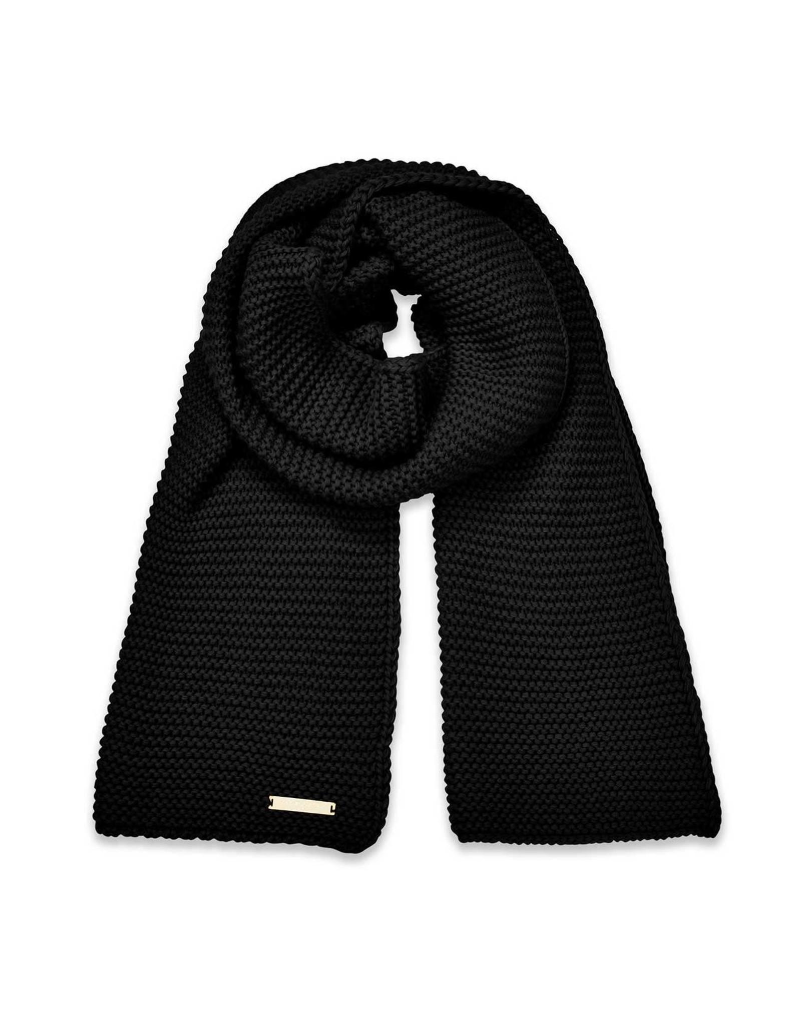 Katie Loxton Sjaal - Chunky Knit - Zwart