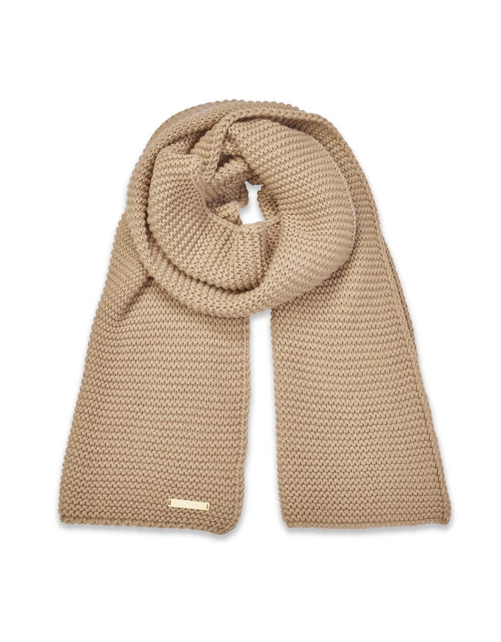 Katie Loxton Sjaal - Chunky Knit - Caramel