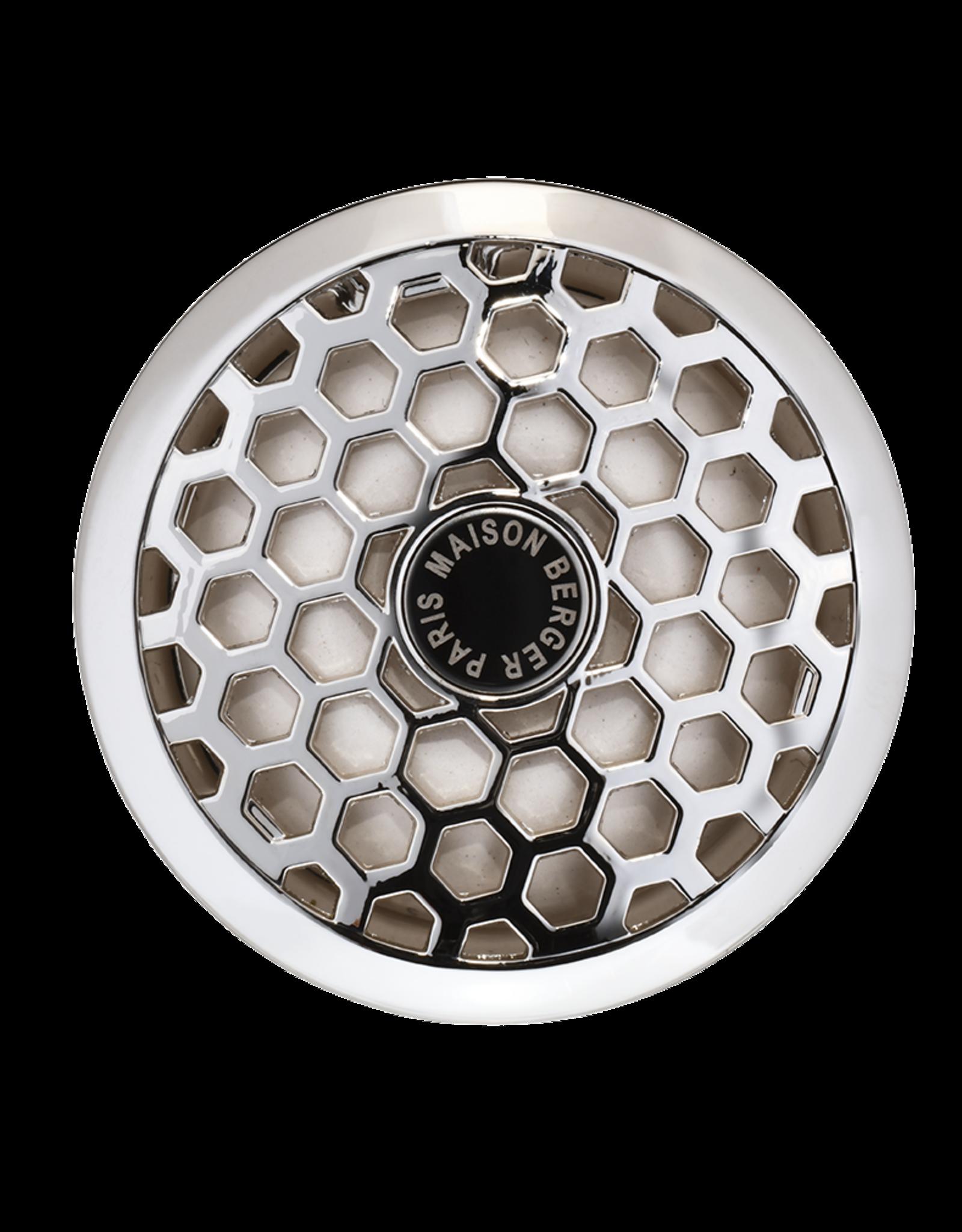 Maison Berger Auto Diffuser - Honey Comb Silver