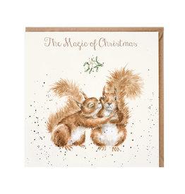 Wrendale Wenskaart - The Magic of Christmas