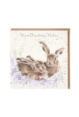 Wrendale Wenskaart - Warm Christmas Wishes