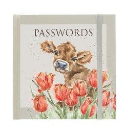 Wrendale Notitieboekje - Paswoorden - Bessie Koe