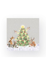 Wrendale Servetten - Oh Christmas Tree - Cocktail