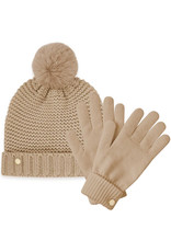 Katie Loxton Muts & Handschoenen - Chunky Knit - Caramel