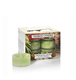 Yankee Candle Lemongrass & Ginger Tea Lights 12 st