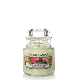 Yankee Candle Lemongrass & Ginger Small Jar