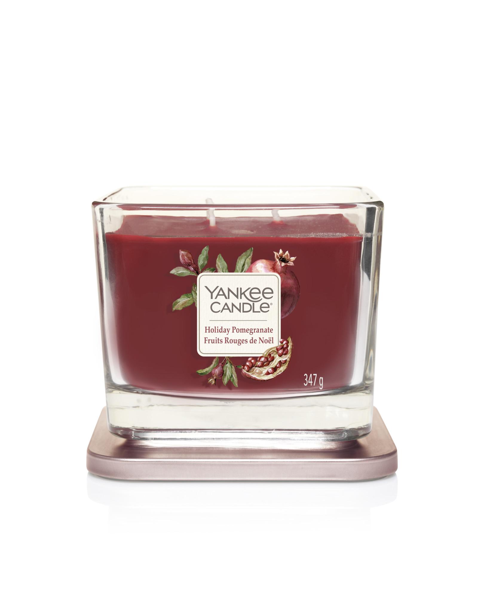 Yankee Candle Holiday pomegranate - Medium Vessel