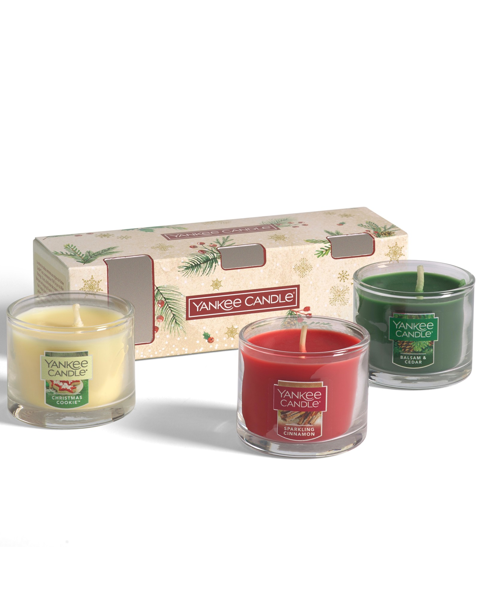 Yankee Candle Magical Christmas Morning - 3 Filled Votives