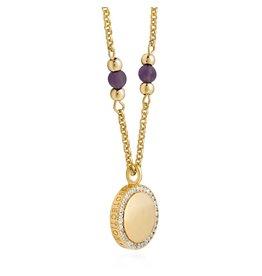 Joma Jewellery Wellness Gems - Amethyst - Ketting
