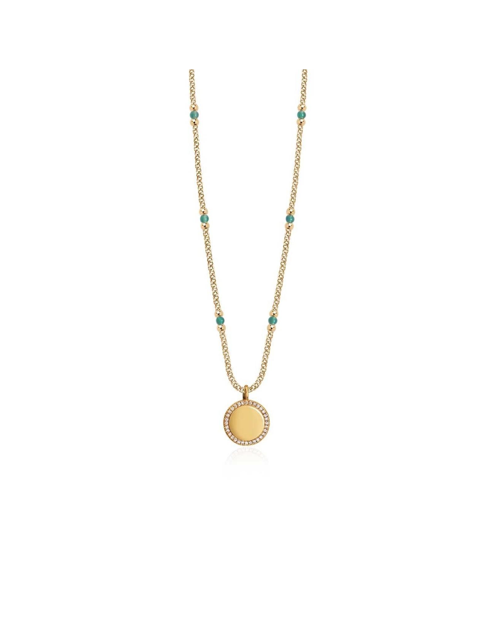 Joma Jewellery Wellness Gems - Aventurine - Ketting