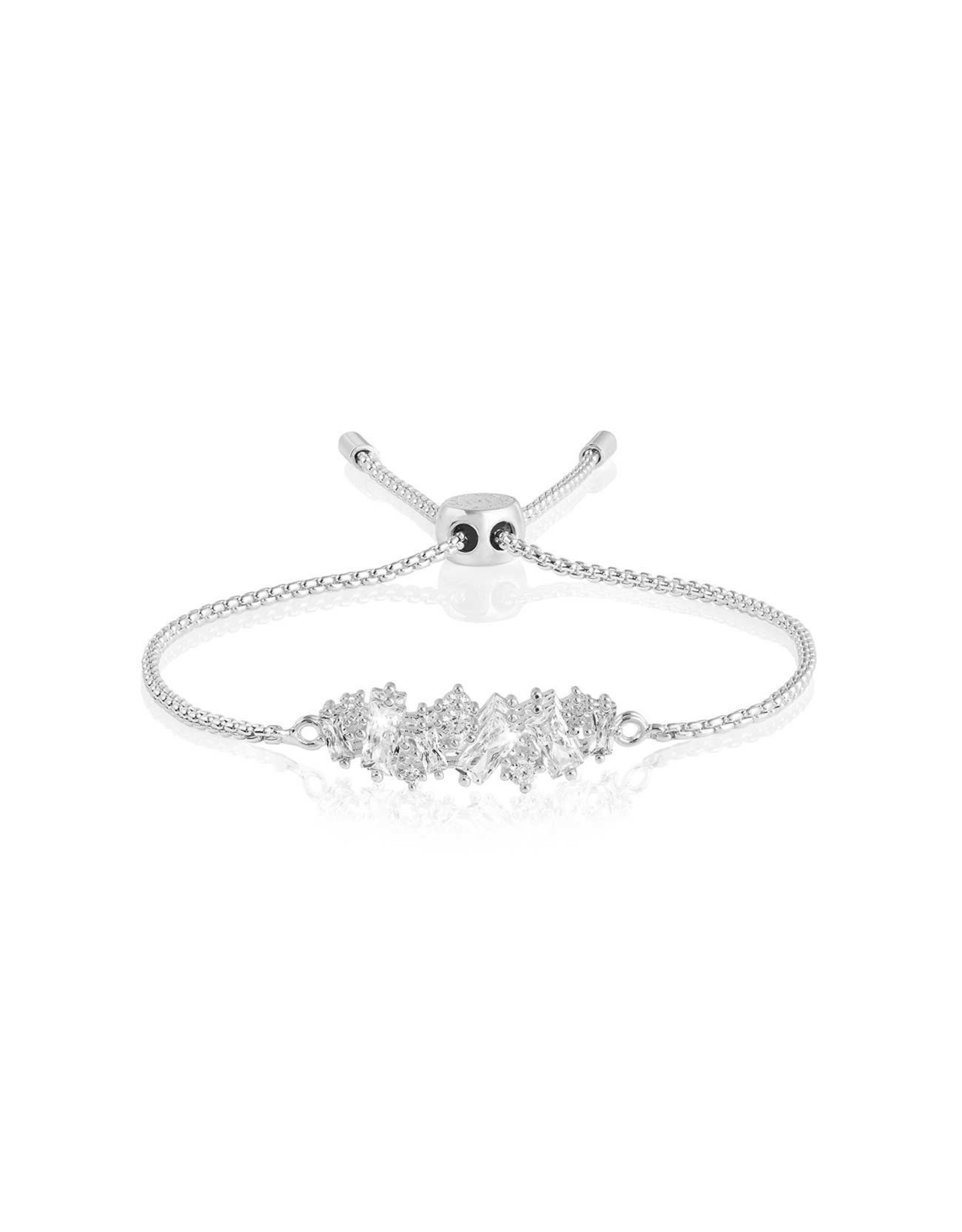 Joma Jewellery Be the Sparkle - Silver Cluster - Armband