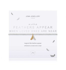 Joma Jewellery A Little - Feathers Appear when Loved Ones are Near
