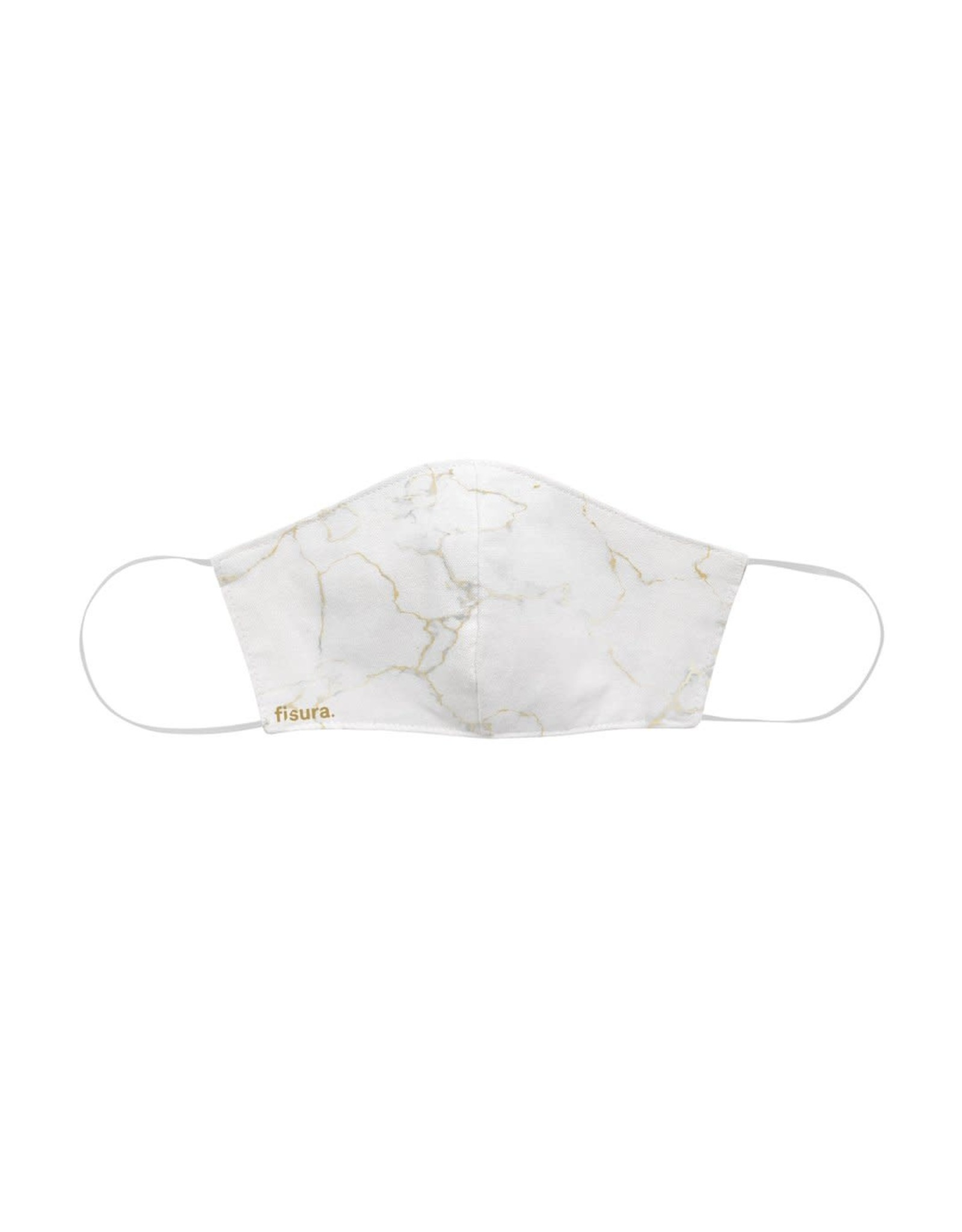Fisura Mondmasker - Marble White