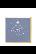 Hearts Design Wenskaart - Happy Birthday to You