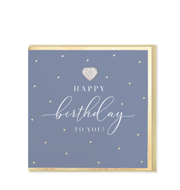 Hearts Design Wenskaart - Happy Birthday to You