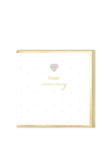 Hearts Design Wenskaart - Happy Anniversary