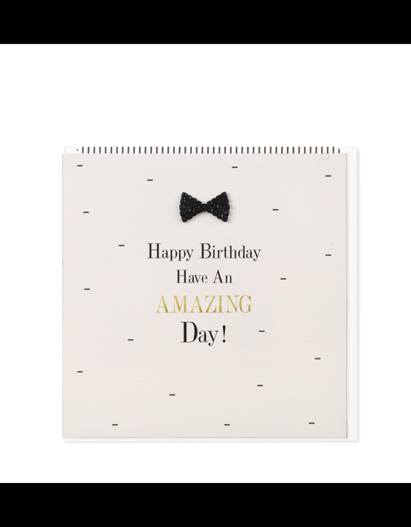 Hearts Design Wenskaart - Happy Birthday - Have an Amazing Day