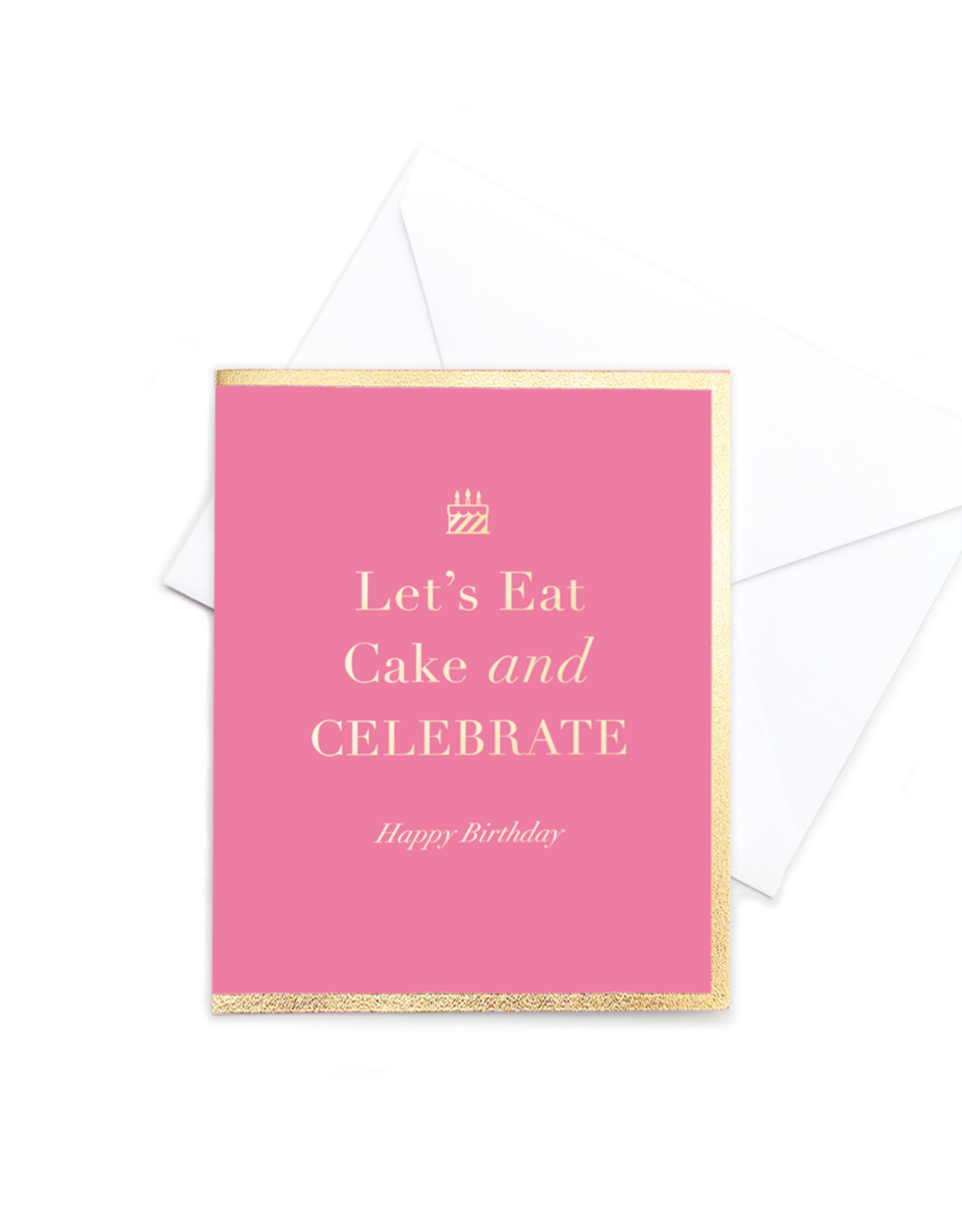 Hearts Design Pop - Eat Cake and Celebrate!