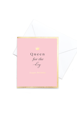 Hearts Design Pop - Queen for the Day - Happy Birthday