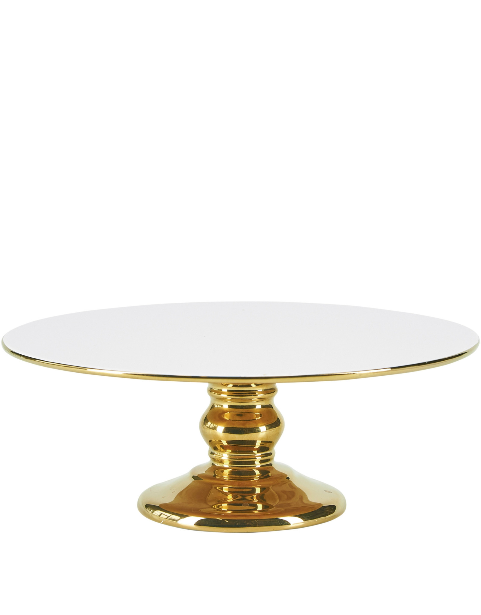 Miss Etoile Cakestand - Goud & Wit - Large