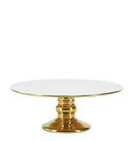 Miss Etoile Cakestand - Goud & Wit - Medium