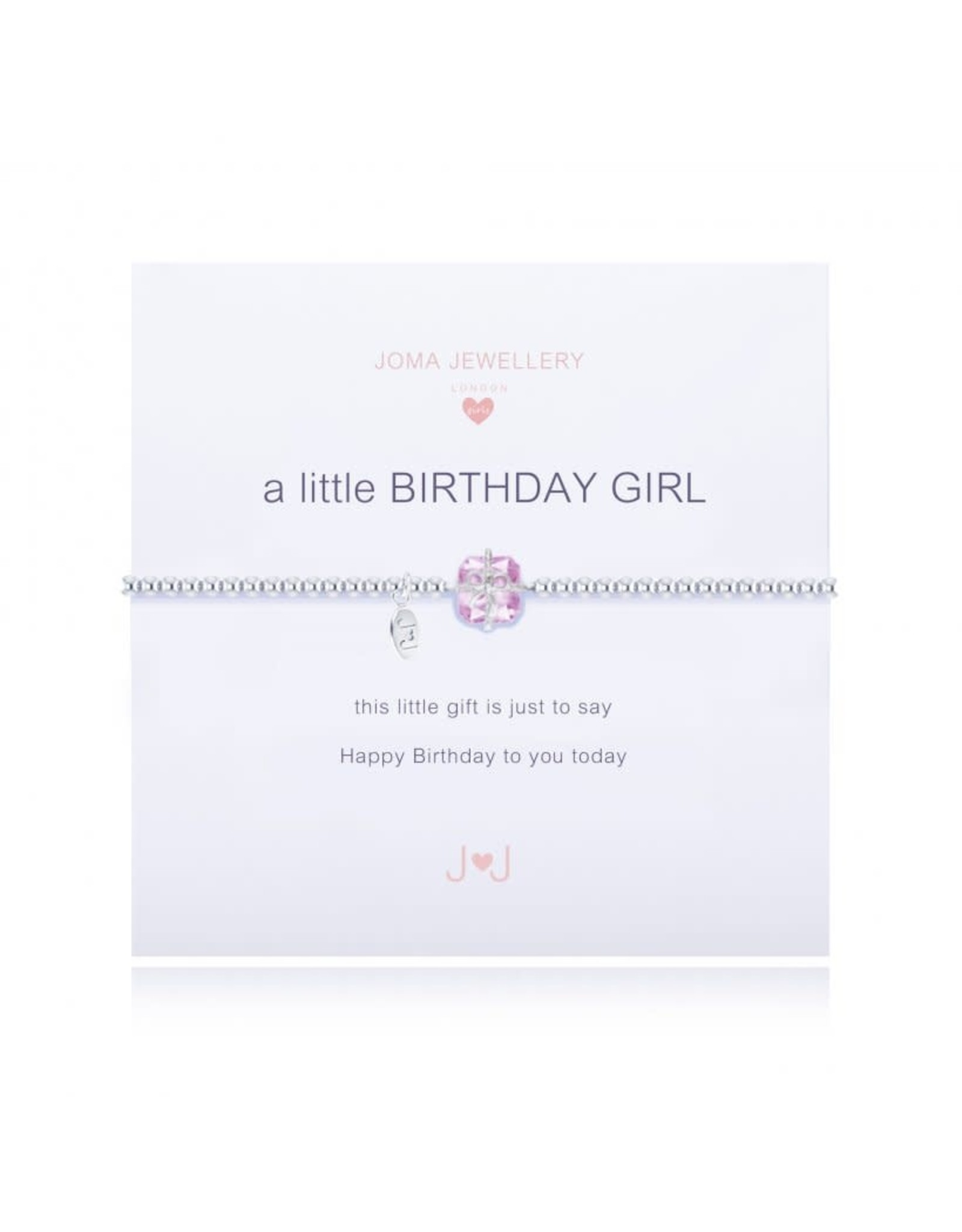 Joma Jewellery Kids - A Little - Birthday Girl
