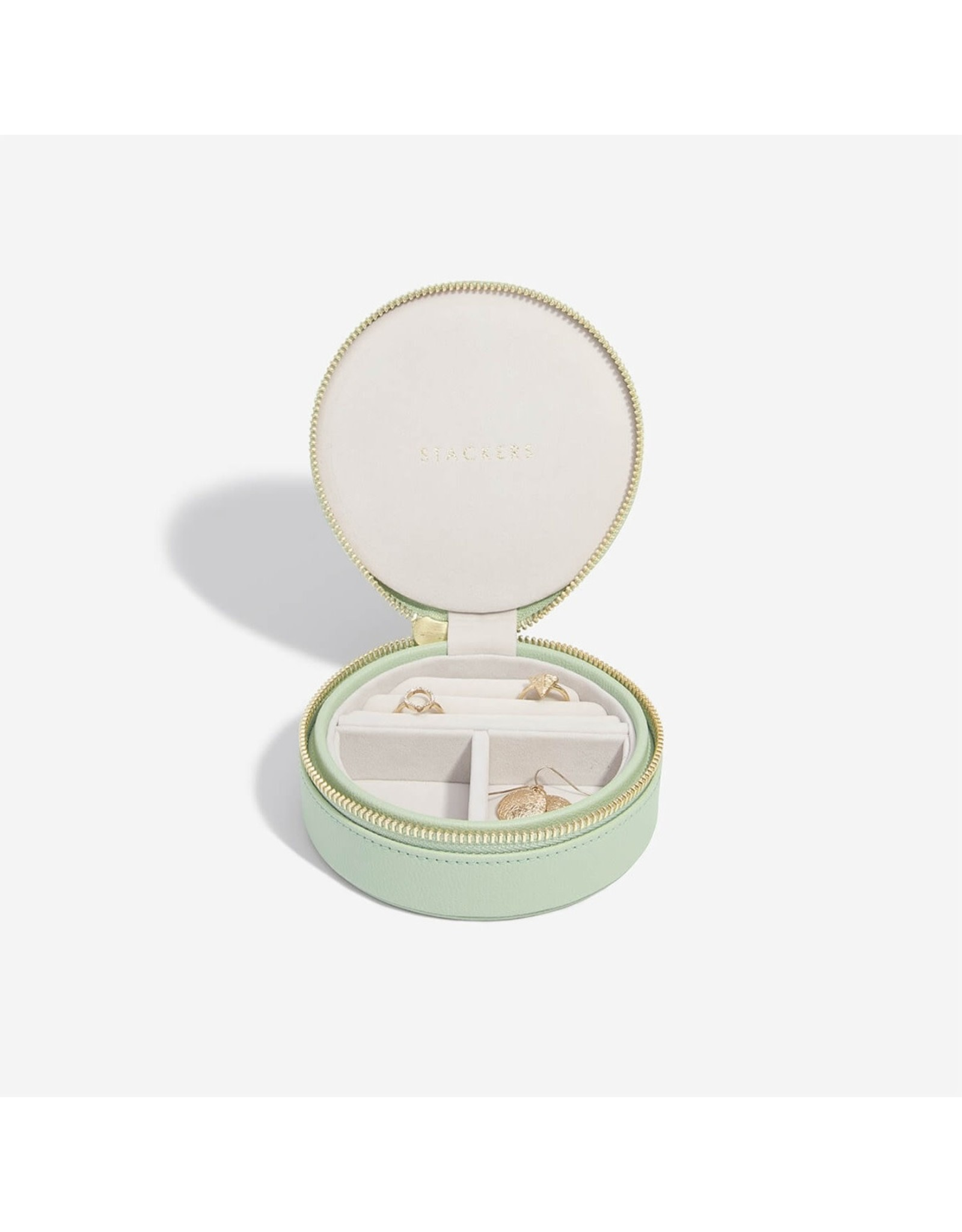 Stackers Sage Green - Travelbox - Rond